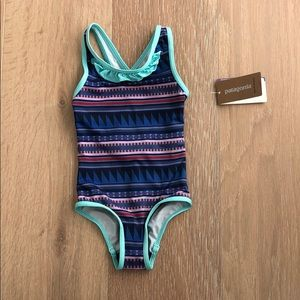 Patagonia baby girl swimsuit size 12-18 months NWT